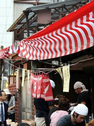 川越祭りのお祭りラーメン